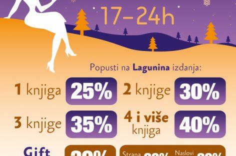 Ноћ књиге – 14. децембра од 17 сати до поноћи!