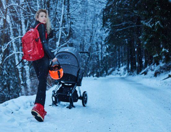 Да бисте дечјим колицима без проблема ишли кроз снег, потребан вам је овај наставак