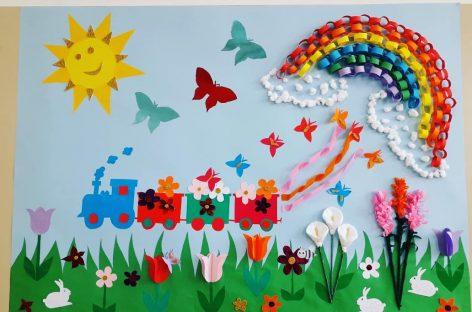Prolećni pano (radovi naših kolega)