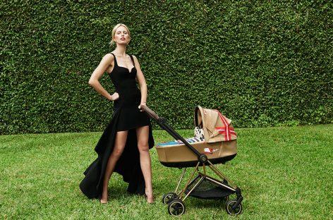 Каролина Куркова дизајнирала колекцију колица за бебе (ускоро у продаји и у Србији)